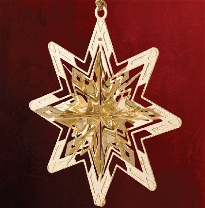 Baldwin Brass Christmas Ornaments Snowflakes